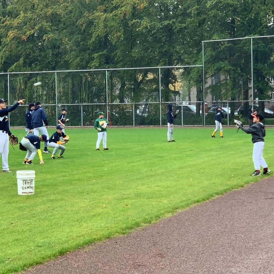 Honkbal op Zuid Portland Poemas de Schakel
