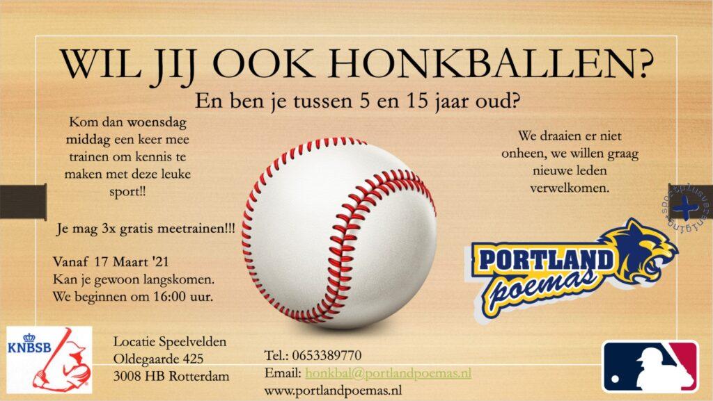 Wil jij ook Honkballen?