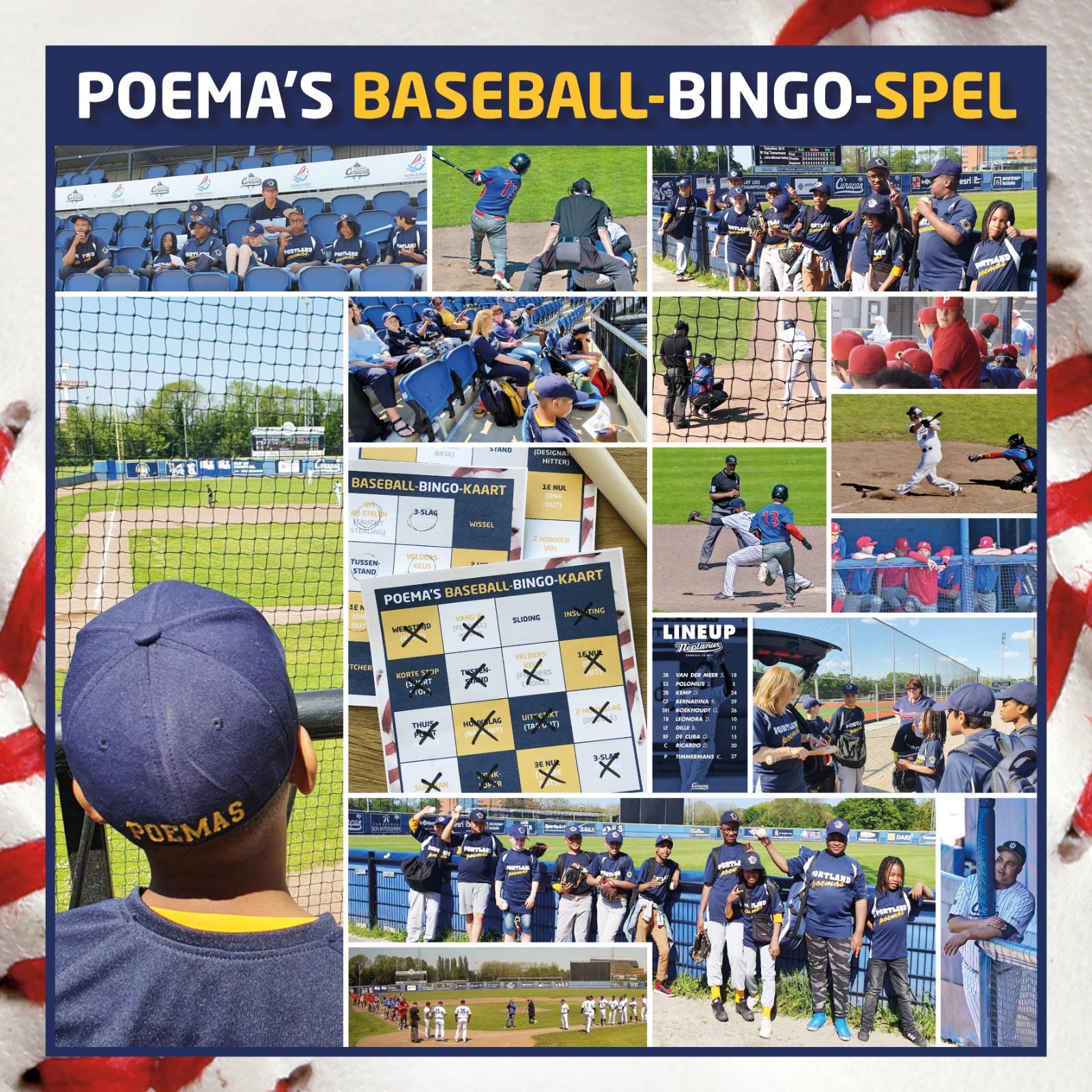 Poema Baseball-bingo Hoofdklasse Honkbal
